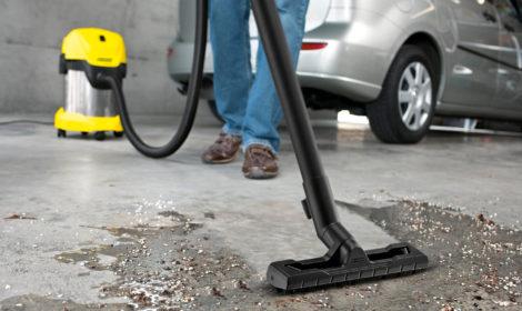 Strojní čištění garáží